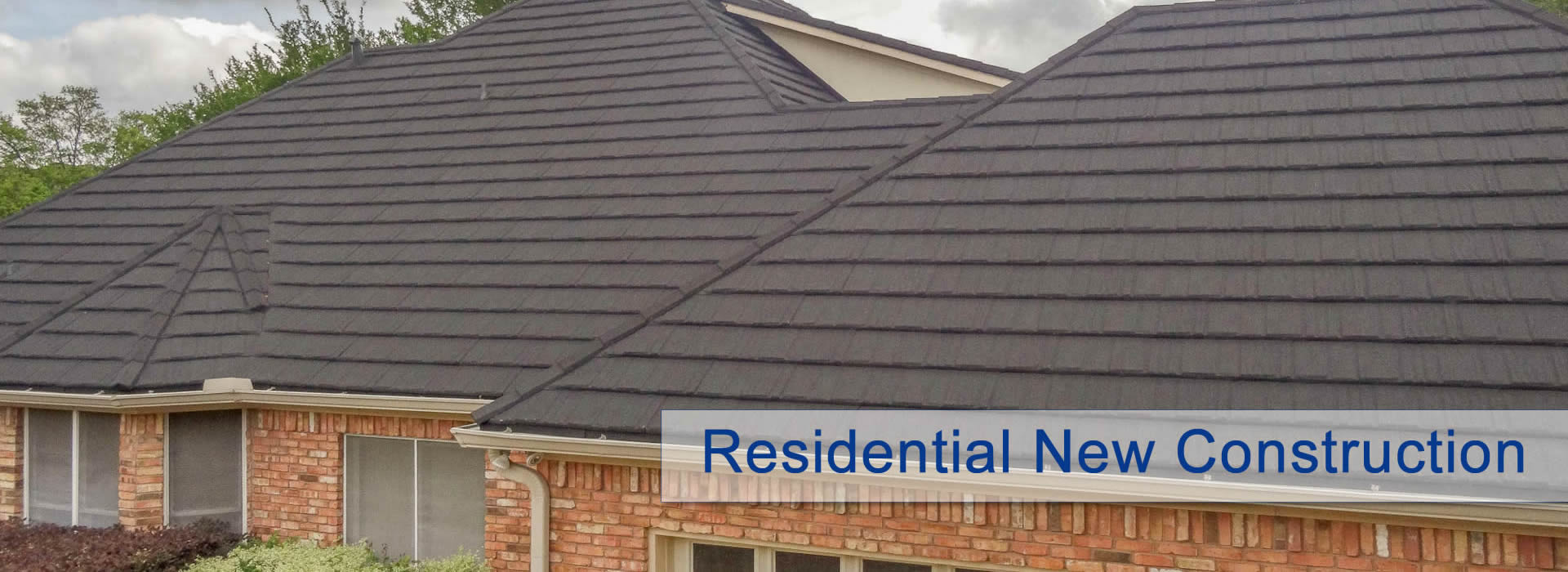 Residential New Construction Roofing
