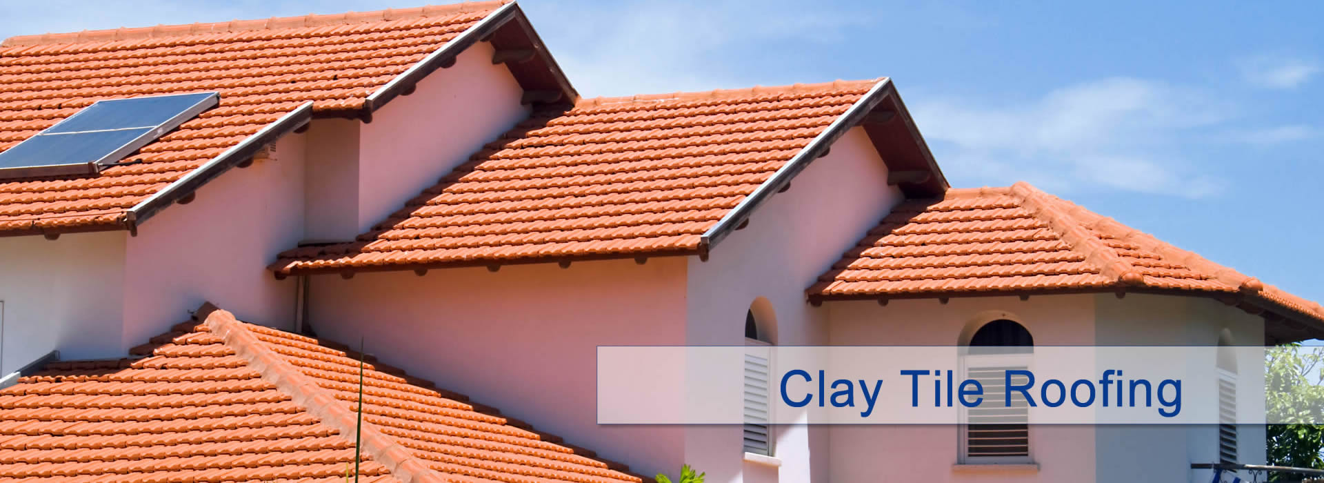 Spanish tile roofing home design ideas and pictures for Clay tile roofs